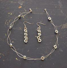 Hex Nuts jewelery