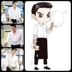 Heirs - Kim Woo Bin as Young Do