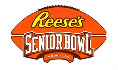 Welcome to the Senior Bowl! The top players in college football travel to Mobile, Alabama to play for NFL coaches, with other players in the game of the year. Football 24, College Football, Athletics Logo, Nfl Coaches, Johnny Manziel, Defensive Back, Sweet Home Alabama, University, Mobile Alabama
