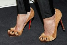 Omg look at these lobuiton shoes they are so cool!
