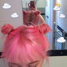 Image about cute in Pink hair. Grunge Look, Grunge Style, Hair Inspo, Hair Inspiration, Pelo Multicolor, Coloured Hair, Dye My Hair, Crazy Hair, Rainbow Hair