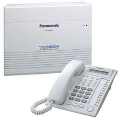 Centrala telefonica analogica Panasonic KX-TES824 3/8 + telefon proprietar KX-T7730