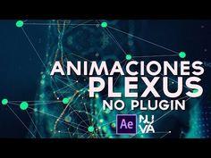 Animaciones Estilo Plexus After Effects Tutorial - YouTube