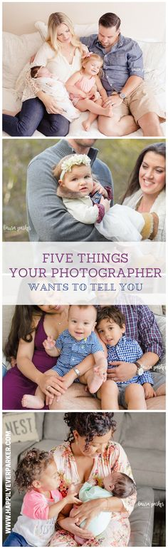 Happily Ever Parker: 5 Things Your Photographer Wants You to Know