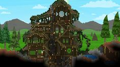 Starbound--lovely house