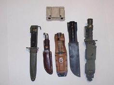 New in Bag Army Military Surplus MOLLE II K Bar Knife Vest Adapter Tan tactical Military Surplus