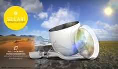 Solari – Le four solaire portable  http://leblogdestendances.fr/high-tech/solari-four-solaire-portable-15655 #solari