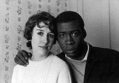 The photographs range from the start of the 1900s to the present day. This one from 1967 shows a mixed race couple in west London, at a time when such a relationship could be frowned upon.