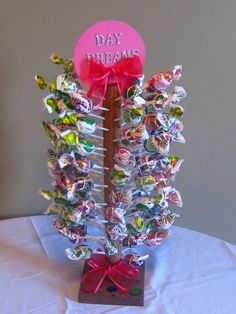 large fruit burst lolly tree centre piece lolly candy. Black Bedroom Furniture Sets. Home Design Ideas