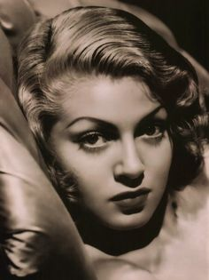 LANA TURNER (1921-1995) was an American film & TV actress. She was discovered in 1937 by a Hollywood reporter while in a café on Sunset Blvd (she was 16). She signed with a Warner Bros. director, Mervyn LeRoy. He went to MGM in 1938 & took her along. Her first film was LeRoy's They Won't Forget (1937), In 1939 she bleached her auburn hair blonde & kept it that way ever since. She became a leading actress in the 1940s. (see other pin for more info)