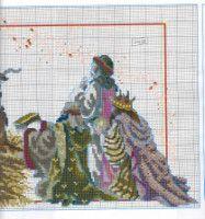 Gallery.ru / Фото #51 - Las Labores de Ana 115 - Ka Christmas Nativity, Christmas Cross, Needlepoint, Cross Stitch Patterns, Needlework, Embroidery, Crafts, Holy Family, Baby Jesus