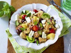 Leckere Salate zum Sattessen - ciabatta-brot-salat  Rezept