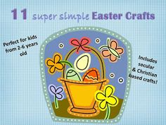 Nothing But Monkey Business: 11 Fun Easter Crafts for Kids! (Includes Christian based crafts)