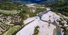 Εξόρμηση με drone στον Εύηνο ποταμό! [photos]
