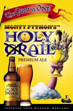 Monty Python s Holy Grail Ale An English Pale Ale From The Black Sheep  Brewery English Pale 6ed131216