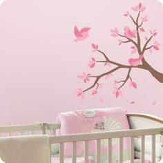 Wall Decor Stickers For Baby Room: Baby Girl Room Pink Design ~ Decoration Inspiration