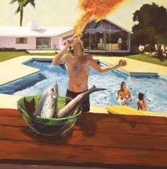 Barbeque (1982) - Eric Fischl