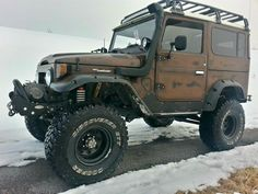 Toyota - Ready for anything! Toyota Fj40, Toyota Trucks, 4x4 Trucks, Cool Trucks, Lifted Trucks, Toyota Land Cruiser, Pick Up, Expedition Vehicle, Jeep 4x4