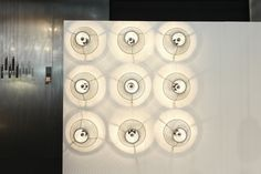 LA CALETA wall lamp / Salone Satellite / Salone del Mobile / 2016 / davidpompa #ffe #lighting #design #lightingdesign #homedesign #interiordesign