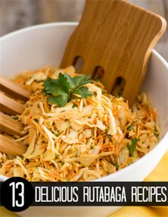 A sweet, tangy and creamy coleslaw that contains no added sugar whatsoever, so you can have it anytime you want, even while doing a Rutabaga Recipes, Turnip Recipes, Vegetable Recipes, Veggie Meals, Clean Eating, Healthy Eating, Healthy Meals, Paleo Recipes, Real Food Recipes