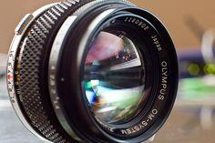Olympus OM Zuiko 50mm f/1.4 by jeffk42, via Flickr
