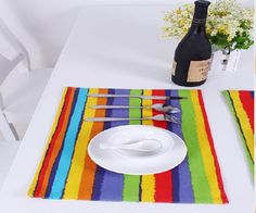 Colorful placemat
