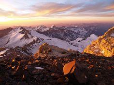 Vista desde el Cerro Aconcagua - Las Heras - Mendoza