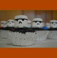 storm trooper cupcakes -- fantastic