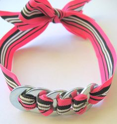 ribbon washer jewelry / headband?