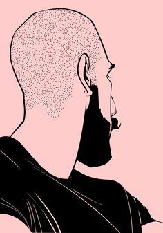 Illustration pink