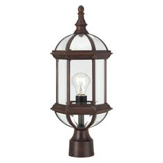 Nuvo Boxwood 19 in. Outdoor Post Light - 60/4975