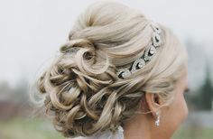 Beautiful updo and hairpiece