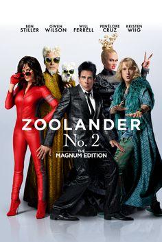 Zoolander No. 2 (The Magnum Edition) Movie Poster - Ben Stiller, Owen Wilson, Will Ferrell #ZoolanderNo2, #TheMagnumEdition, #BenStiller, #OwenWilson, #WillFerrell, #Comedy, #Poster, #Art, #Film, #Movie, #Poster