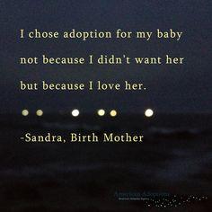 Why choose adoption?