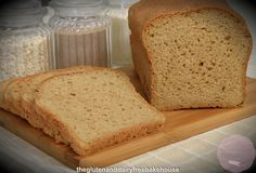 """BEST SO FAR! """"Wholemeal' GF Bread (tapioca, almond, sorghum, buckwheat, potato, millet, teff flours + gr. flaxseeds instead of quinoa flakes. Start @ 180C, reduce after 10 mins. to 160C. Bake about an hour.)"""