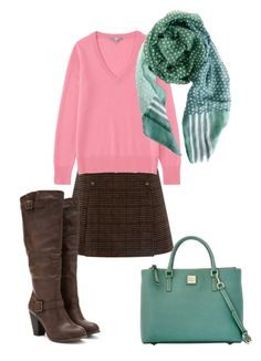 Soft autumn's green is soft. You also have a dark green to wear but I chose the light shade to style. A soft pink looks so pretty with this green.  Have fun an wear what you love!  Jen Thoden Download Your Soft Autumn Color Wheel Today!