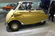 Best place to ride in a classic BMW Isetta - Without Baggage