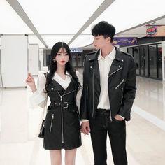 Similar Look - Similar Look Korean Girl Fashion, Ulzzang Fashion, Asian Fashion, Clueless Outfits, Cool Outfits, Fashion Outfits, Matching Couple Outfits, Ulzzang Couple, Fashion Couple
