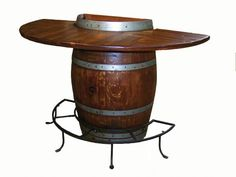 Safe Retailing ::Wine Barrel Displays, Air Vacuum Systems, Air Shoot Systems, Cash-handling, Counterfeit Detectors, Banknote Counters Wine Barrel Bar Table, Wine Barrels, Wine Bottle Display, Wine Barrel Furniture, Wine Collection, Wine Cabinets, Nautical Chest Of Drawers, Home Goods Furniture, Kitchen Furniture