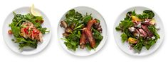 Wilted Spinach Salads via NYTimes