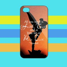 Tinkerbell Quotes iphone 4,4s/5,5s,5c/ samsung galaxy s3/s4 case
