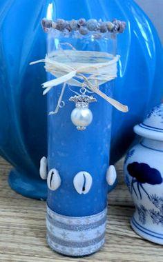 Yemoja , Yemaya , Candle. Orisha , Santeria , Lucumi , Ifa https://www.etsy.com/listing/184680369/yemaya-prayer-candle?ref=shop_home_active_2