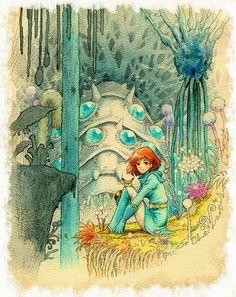 Nausicaa of the Valley of the Wind - Studio Ghibli