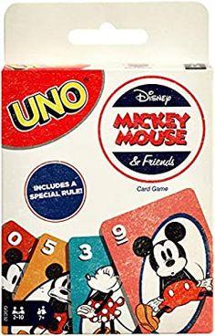 Amazon.com: UNO: Disney Mickey Mouse & Friends - Card Game: Toys & Games Disney Mickey Mouse, Mickey Mouse Characters, Classic Disney Characters, Mickey Mouse And Friends, Minnie Mouse, Uno Card Game, Uno Cards, Card Games, Disney Games