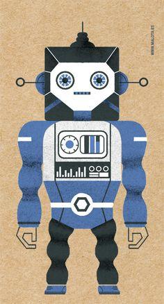 Robot - Malota -www.malota.es