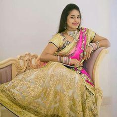 . Lehanga Saree, Sari, South Indian Bride, Wedding Inspiration, Weddings, Fashion, Saree, Moda, Fashion Styles
