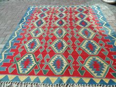 Kilim Rug Detail Colorful Rugs Pinterest And