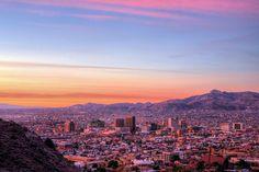 El Paso at dawn