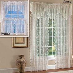 elegant baroque ruffle adjustable ribbon pull up shade/curtain