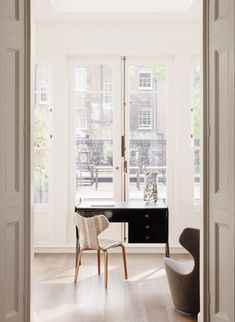 Collector's townhouse April Russell Luxury bespoke interior study